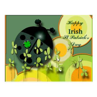 Postal Mariquita muy irlandesa