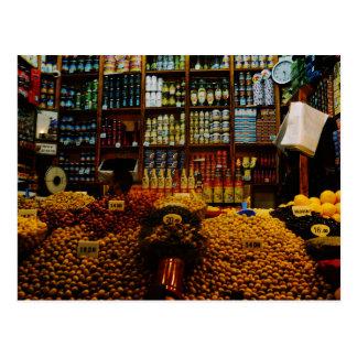Postal Marruecos: Amantes verdes olivas