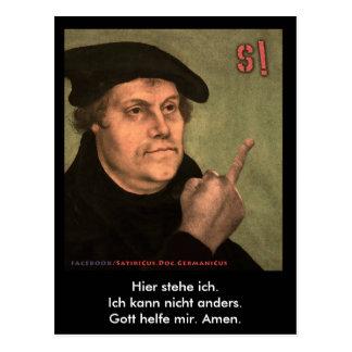 "Postal Martin Luther ""StinkeFinger """
