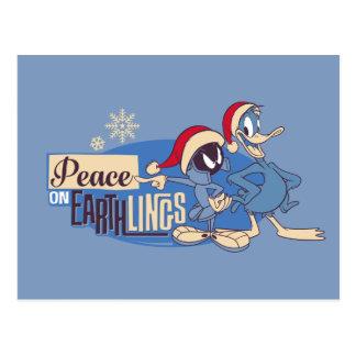 Postal MARVIN la paz de MARTIAN™- en Earthlings
