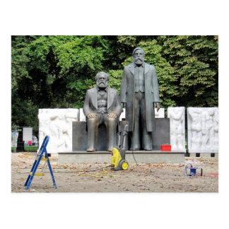 Postal Marx-Engels Denkmal Berlín