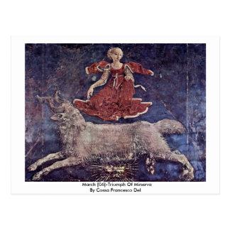 Postal Marzo [06] - Triumph de Minerva
