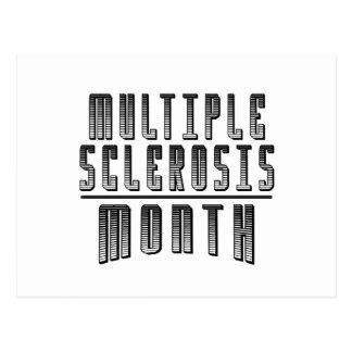Postal Marzo - mes de la esclerosis múltiple