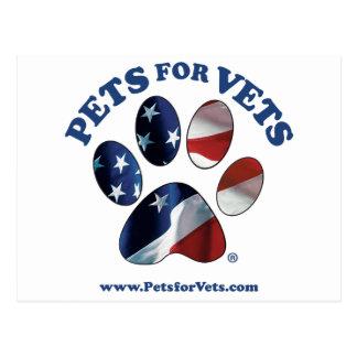 Postal Mascotas para los veterinarios