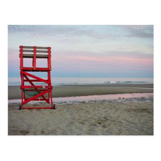 Postal Massachusetts, Gloucester, buena playa del puerto