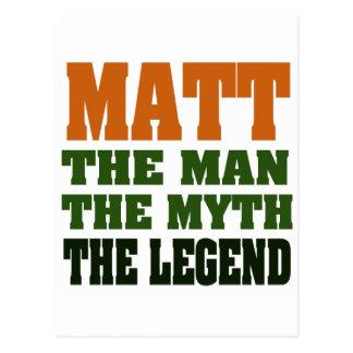 Postal MATE - el hombre, el mito, la leyenda