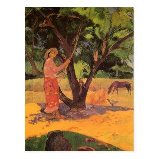 "Postal ""Mau Taporo"" - Paul Gauguin"