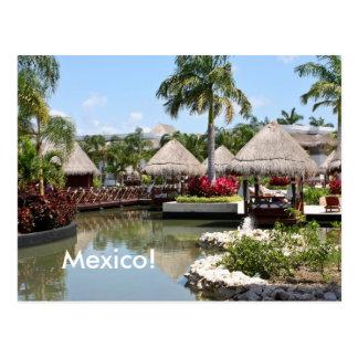 Postal Maya de Riviera, México