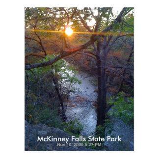 Postal McKinney se cae parque de estado