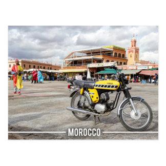 Postal Medina de Marrakesh - el EL Fnaa, Marruecos de