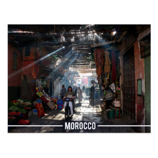 Postal Medina de Marrakesh - Marrakesh Souks, Marruecos
