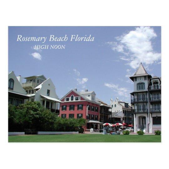 Postal Mediodía de la playa de Rosemary