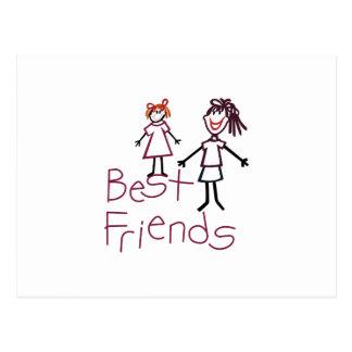 Postal Mejores amigos