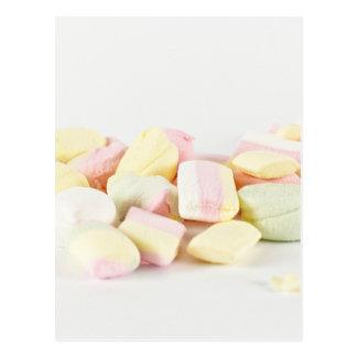 Postal Melcochas de los caramelos