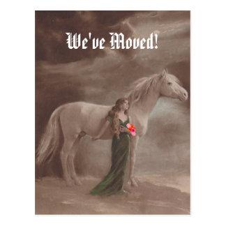 Postal memorable hemos movido el nuevo caballo de