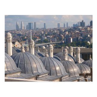Postal Memoria de Estambul, mezquita de Soleymaniye