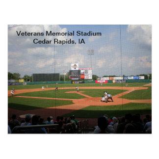 Postal - Memorial Stadium de los veteranos -