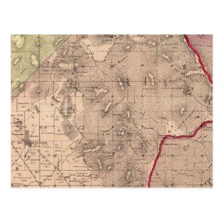 Postal Mendocino, río ruso, Knights el valle