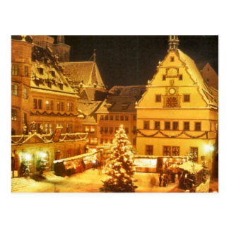 Postal Mercado Alemania del navidad