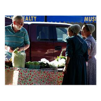 Postal Mercado de los granjeros