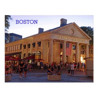Postal Mercado histórico Boston céntrica de Quincy