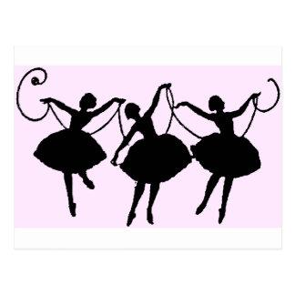 Postal Mercancía del ballet