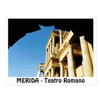 Postal MERIDA - Teatro Romano
