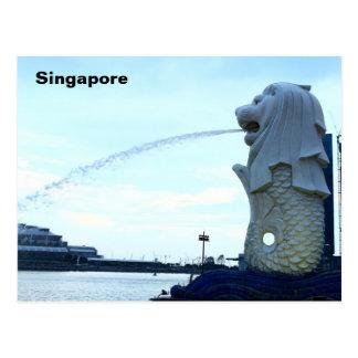 Postal Merlion en Singapur