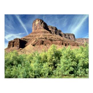 Postal Meseta de la bóveda, formación de roca de Utah