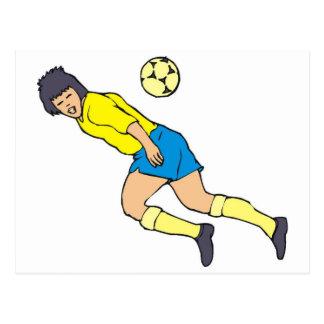 Postal Meta del fútbol