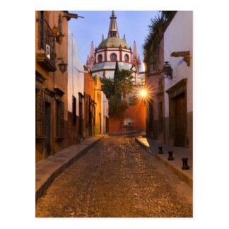 Postal México, San Miguel de Allende. Madrugada