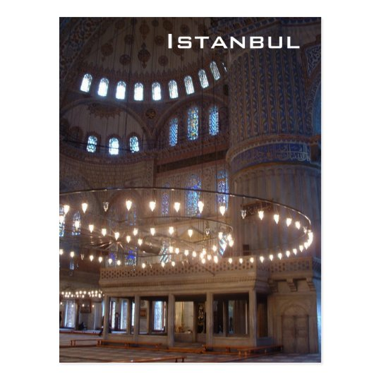 Postal Mezquita azul