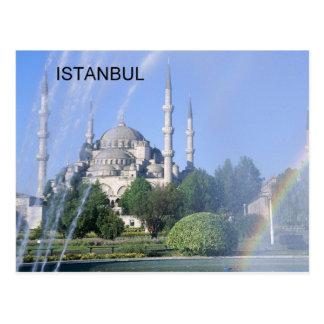 Postal Mezquita azul de Turquía Estambul (St.K)