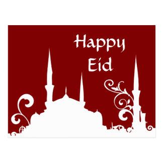 Postal Mezquita roja el Ramadán del