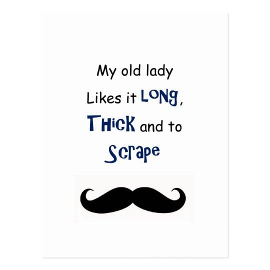 Postal Mi señora mayor