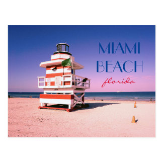 Postal Miami Beach la Florida #01