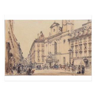 Postal Michaelerplatz y mercado del carbono en Viena por