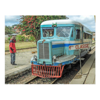 Postal Michelin Railbus MZ 516 - Madagascar
