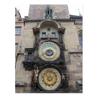 """Postal """"mil de la duda las estrellas es reloj astronómico"""