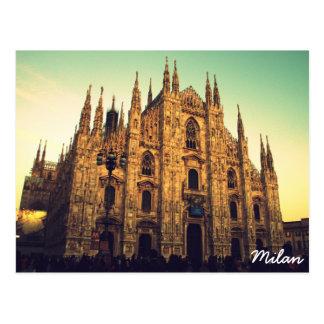 Postal Milano, Italia