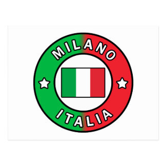 Postal Milano Italia