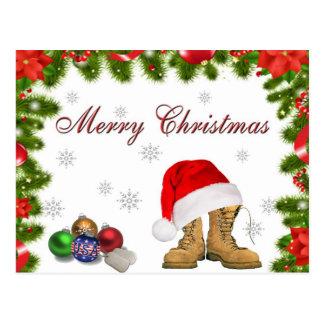 Postal militar del navidad