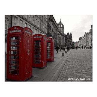 Postal Milla real Escocia de Edimburgo