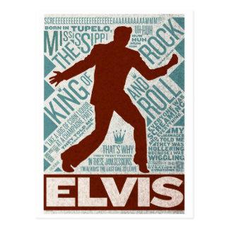 Postal Millón de tipos de Elvis del cuarteto del dólar