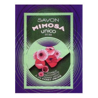 Postal Mimosa Unico 55 de Savon
