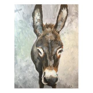 Postal miniatura del burro del Brutus