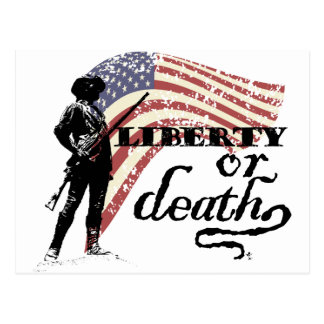 Postal Minutemen de la libertad o de la muerte