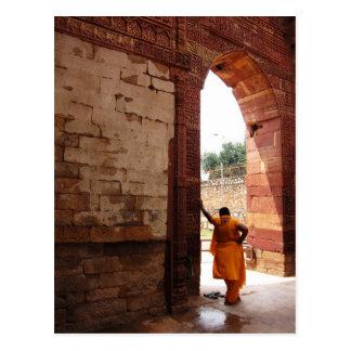 Postal mirada de la India