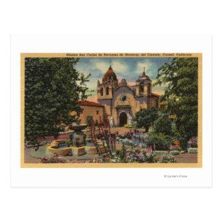 Postal Misión San Carlos de Borromeo de Monterey