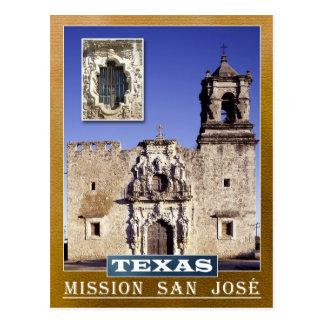 Postal Misión San José, San Antonio, Tejas